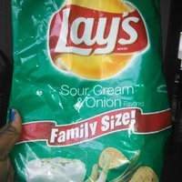 LAY'S® Sour Cream & Onion Flavored Potato Chips uploaded by Christal B.