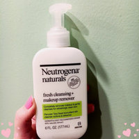 Neutrogena Naturals Fresh Cleansing + Makeup Remover uploaded by Grace H.
