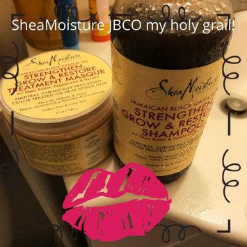 Photo of SheaMoisture Jamaican Black Castor Oil Strengthen, Grow & Restore Treatment Masque w/ Shea Butter, Peppermint & Keratin uploaded by Sabrina R.