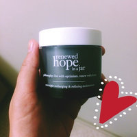 Philosophy Renewed Hope in a Jar Overnight Moisturizer-NO COLOUR-60 ml uploaded by Valerie M.