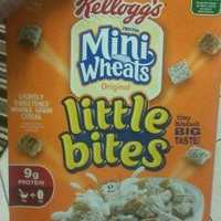 Kellogg's Frosted Mini Wheats Original Big Bite Cereal uploaded by Trista N.