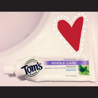 Tom's of Maine Whole Care with Fluoride Natural Toothpaste uploaded by Sara C.