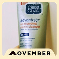Clean & Clear® Advantage® Oil Absorbing Cream Cleanser uploaded by Faith D.