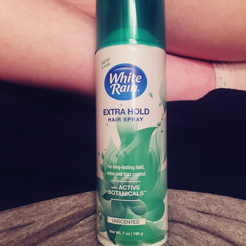 White Rain® Unscented Extra Hold Hair Spray 7 oz. Aerosol Can uploaded by Teran F.