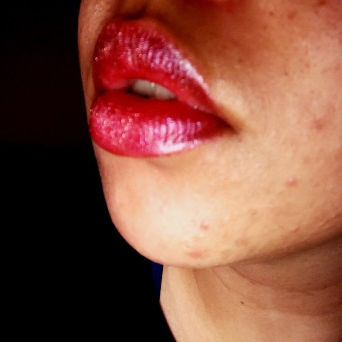 Too Faced La Crème Lipstick uploaded by Ishi B.