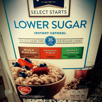 Photo of Quaker® Lower Sugar Instant Oatmeal Maple And Brown Sugar uploaded by Katie G.