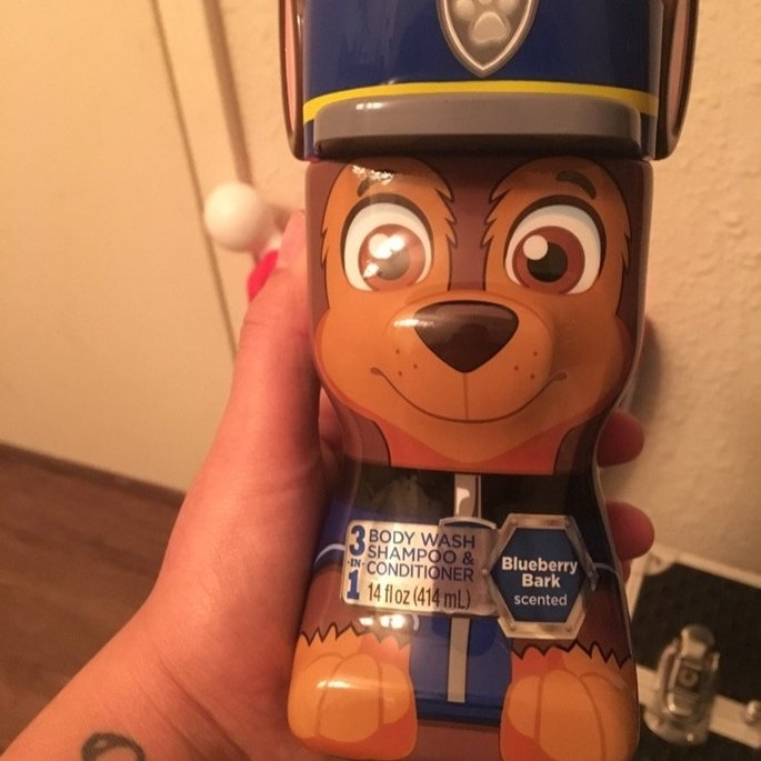 Paw Patrol Puptastic Punch Scented 3 in 1 Body Wash Shampoo & Conditioner, 14 fl oz uploaded by Ralyn E.