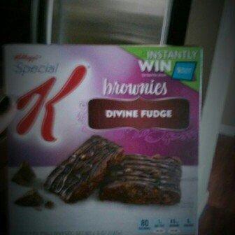 Photo of Special K® Kellogg's Brownies Divine Fudge uploaded by Katie P.