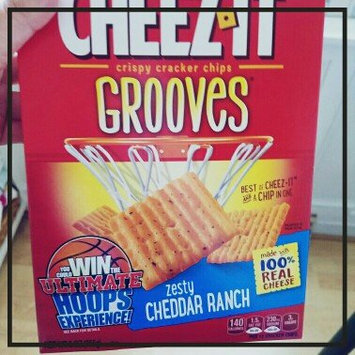 Photo of Cheez-It Grooves™ Zesty Cheddar Ranch uploaded by Amanda E.