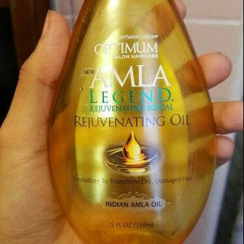 Photo of Optimum Salon Haircare Amla Legend Rejuvenating Oil, 5 fl oz uploaded by Brenda O.