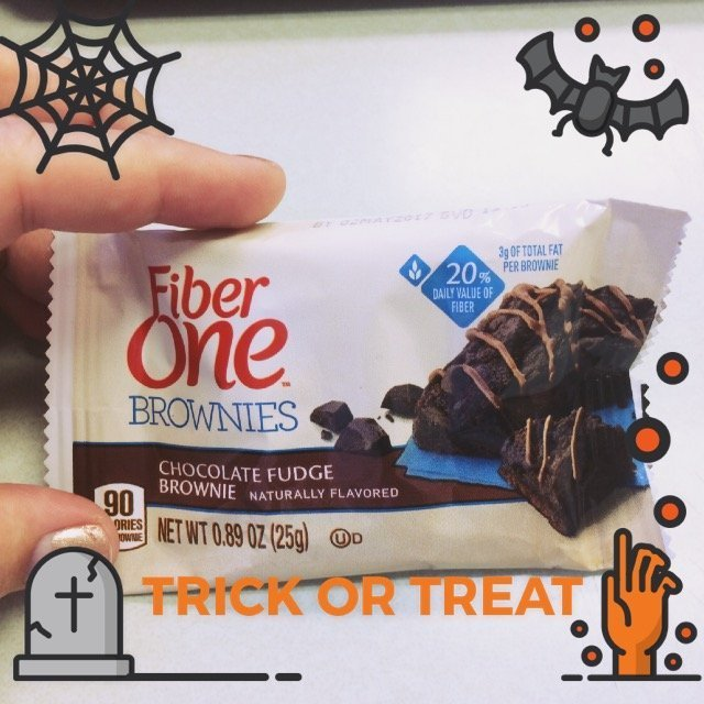 Fiber One 90 Calorie Chocolate Fudge Brownies uploaded by April H.