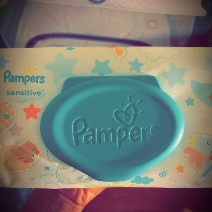 Pampers Sensitive Wipes Travel Pack, 56 ea uploaded by Leea S.