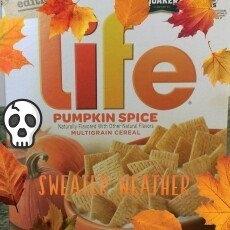 Quaker® Life® Pumpkin Spice Cereal  13 oz. Box uploaded by Dana H.