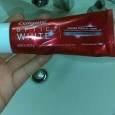 Colgate Optic White Anticavity Fluoride Toothpaste Sparkling Mint uploaded by Tawnya M.