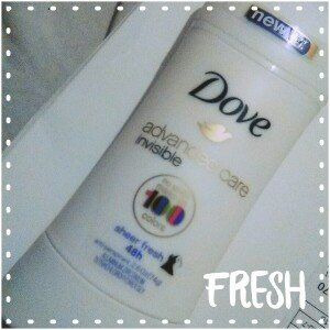 Photo of Dove Advanced Care Invisible Antiperspirant Sheer Fresh uploaded by mayra m.
