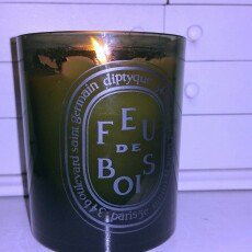 Photo of Diptyque Grey Feu de Bois Candle uploaded by Jackie G.