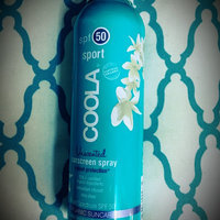 Coola Sport Spf 50 Unscented Sunscreen Spray uploaded by Crystal H.