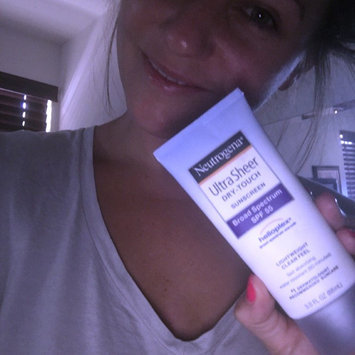Photo of Neutrogena® Ultra Sheer® Dry-Touch Sunscreen Broad Spectrum SPF 55 uploaded by Catie C.