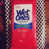 Wet Ones Antibacterial Hand Wipes Fresh Scent 20 ct uploaded by Reverie V.