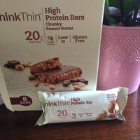 thinkThin High Protein Bar Chunky Peanut Butter uploaded by Adrianna  C.
