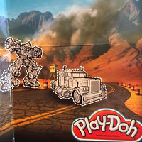 Hasbro Play-Doh Transformers Dark of the Moon Art Dough Set uploaded by Ann C.