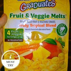 Gerber Graduates Fruit & Veggie Melts uploaded by Brittany J.