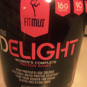 Photo of FitMiss Delight Women's Complete Protein Shake Chocolate Delight uploaded by Amanda M.
