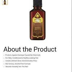 Photo of Josie Maran Argan Oil Hair Serum uploaded by Raeleen S.