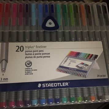 Photo of Staedtler Triplus Fineliner Pens, Assorted, Set of 20 uploaded by Latoya W.