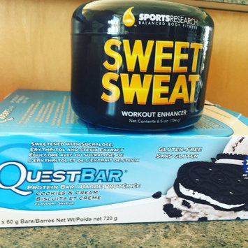 Photo of Sweet Sweat Jar, Workout Enhancer Cream, 6.5 oz, Sports Research Corporation uploaded by Jodie P.
