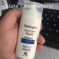 Neutrogena Pure & Free Liquid Daily Sunscreen uploaded by Kathya D.