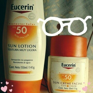 Eucerin Face Lotion and Sunscreen 30 SPF uploaded by maribel a.