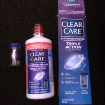 Clear Care Cleaning & Disinfecting Solution uploaded by Aria T.