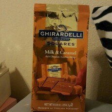 Ghirardelli Chocolate Squares Milk & Caramel uploaded by Jillian G.