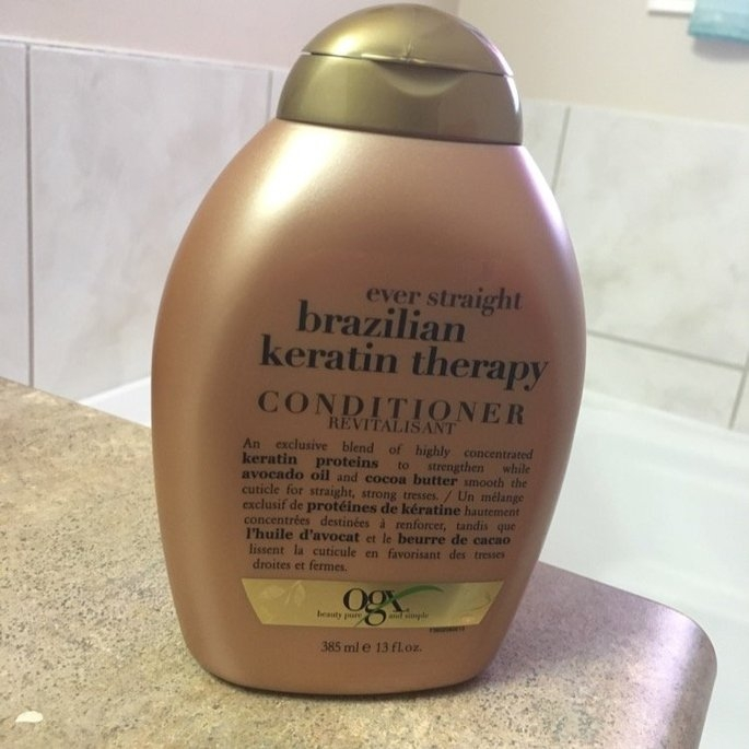 Organix Ever Straight Anti-Breakage Hair Serum uploaded by Grace L.