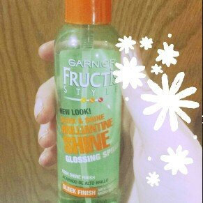 Garnier Fructis Style Brilliantine Shine Glossing Spray uploaded by Monica Y.