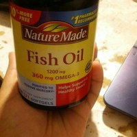 Nature Made Ultra Omega-3 Fish Oil 1400 mg Softgels - 90 Count uploaded by Christina B.