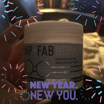 Photo of Nip + Fab Glycolic Fix Exfoliating Facial Pads - 60 Count uploaded by Andreana B.