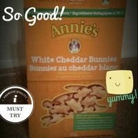 Annie's® Homegrown White Cheddar Bunnies Baked Snack Crackers uploaded by Samantha D.