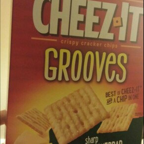 Cheez-It Grooves Zesty Cheddar Ranch Crackers 9 oz uploaded by Sarah M.