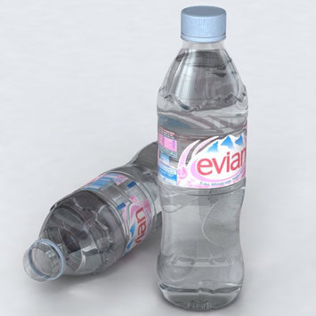 Evian® Natural Spring Water uploaded by Georgia G.