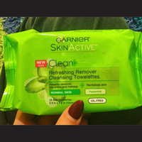 Garnier Nutritioniste The Refreshing Remover Cleansing Towelettes -- Oil Free uploaded by Natasha G.