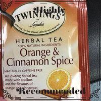 Twinings® OF London Orange & Cinnamon Spice Tea Bags uploaded by Juline P.