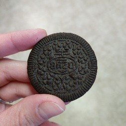 Oreo Thins Chocolate Sandwich Cookies uploaded by Ashley A.