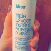 Bliss Triple Oxygen Instant Energizing Mask uploaded by Ivette C.