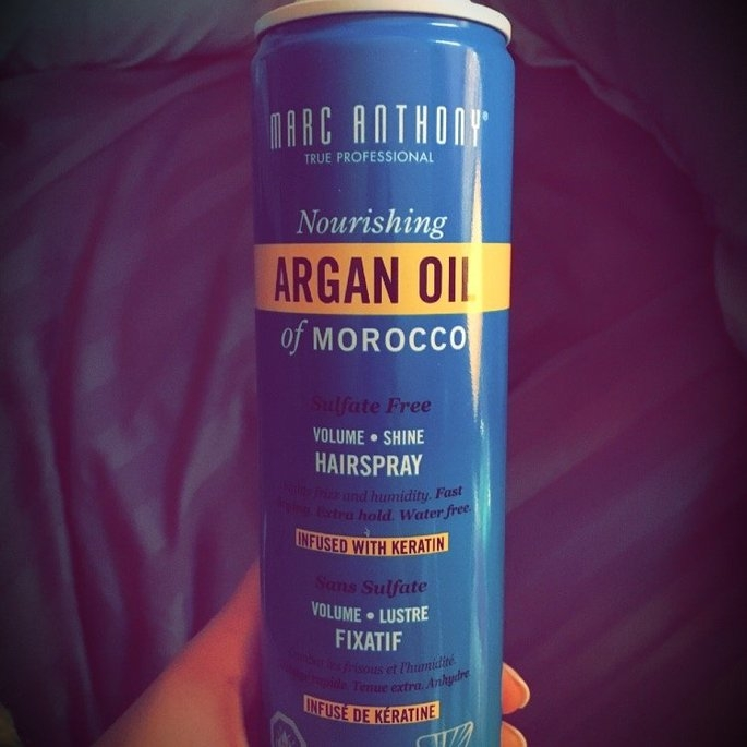 Marc Anthony True Professional Oil of Morocco Argan Oil Hair Spray uploaded by Jordan S.