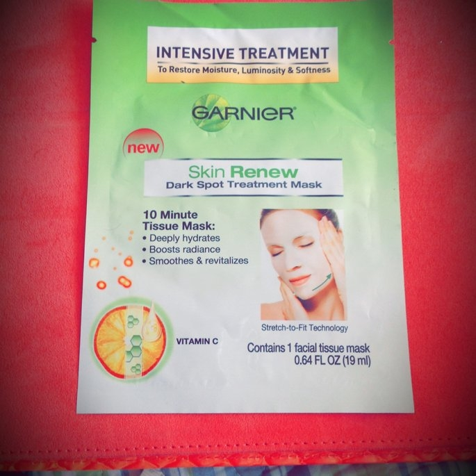 Garnier Skin Renew Dark Spot Treatment Mask - For Dark Spots and uploaded by Theresa R.