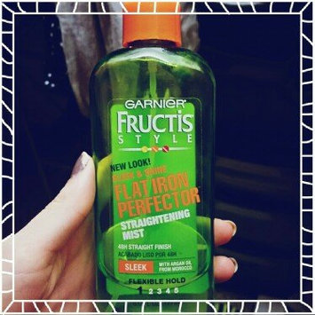Garnier Fructis Style Sleek & Shine Flat Iron Perfector Straightening Mist 24 Hr Finish uploaded by Maria B.