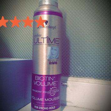 Photo of Schwarzkopf Styliste Ultime® Biotin+ Volume™ Volume Mousse 8 oz. Aerosol Can uploaded by Lyndsay S.