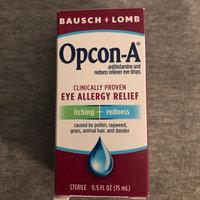 Bausch & Lomb Opcon-A Eye Allergy Relief uploaded by Sheryl M.